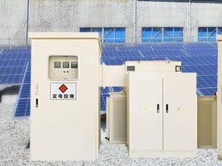 蓄電池搭載 変電設備パッケージ
