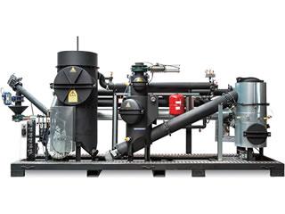木質バイオマス発電・熱供給 小型プラント Spanner