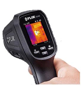 サーマルイメージ放射温度計 TG167
