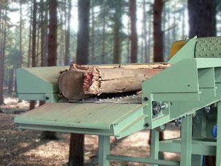 発電用 切削チップ製造機(ドラムチッパー式)
