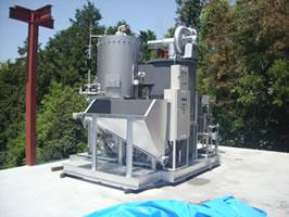 500kg/h 蒸気ボイラー