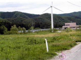 小形風力・福島県耶麻郡猪苗代町(19.5kW ・ 7.4m/s)
