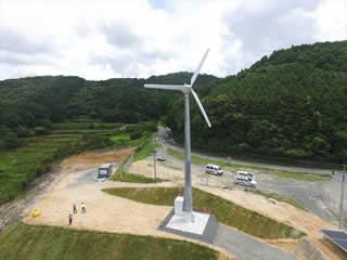 小形風力発電機