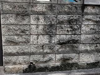 ブロック塀の劣化症状