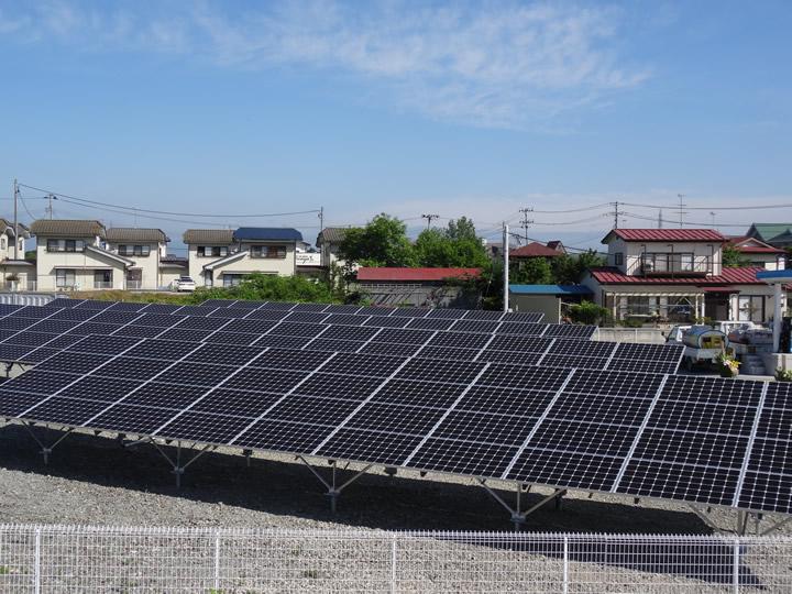 太陽光発電(福島県)51.84kW