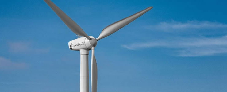 小形風力発電機「SWP-19.8kW」の取り扱いを始めました。