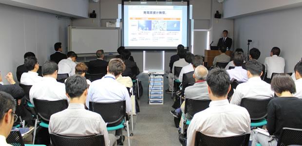 5/23・小型風力発電の現状と始め方セミナーを開催しました。