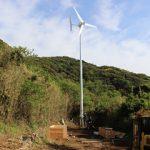 小形風力発電機(長崎県)9.5kW