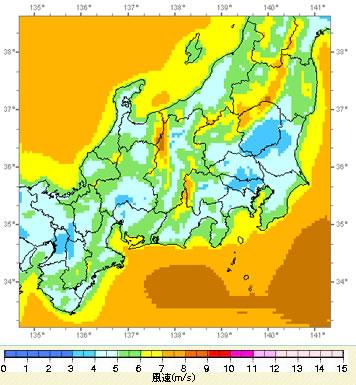 NEDO風況マップ